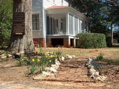 Andalusia in Milledgeville, listed on the National Register of Historic Places since 1980, was the home of  Flannery O'Connor from 1951 until her death from lupus in 1964. This is where O'Connor was living when she completed her two novels and two collections of short stories.