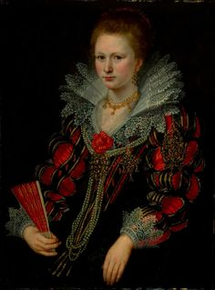 Attributed to Michiel Jansz. van Miereveld Portrait of a Lady, 17th century