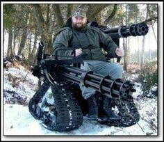 The Extreme Wheelchair Thatu0027s Built Like a Tank - made by someone without formal engineering training. - ganas! | role models | Pinterest & The Extreme Wheelchair Thatu0027s Built Like a Tank - made by someone ...