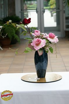 Ikebana at Peony Exhibition C20090613 053 by fotoproze, via Flickr
