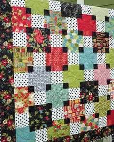 Christmas quilt from Anka's Treasures