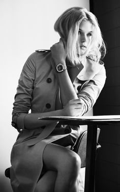 Gabriella Wilde behind the scenes at The Britain watch campaign shoot