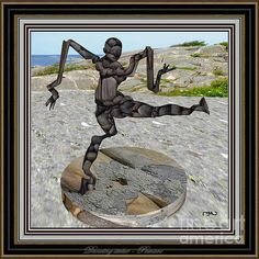 Dancing Statue Memory Of Picasso 12 by Pemaro