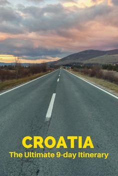 Guide to planning the best Croatia road trip.