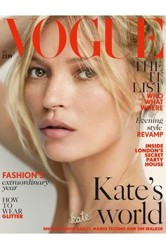 Kate Moss Style Evolution: explore her style over the years, with her most memorable looks. Chart Kate Moss' style over twenty years on Vogue. Vogue Magazine Covers, Vogue Covers, Kate Moss Hair, Kate Moss Style, Secret Party, Secret House, Fashion Magazin, Conditioner, Photo Portrait