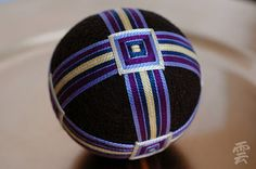 "Temari are symbols of deep friendship and loyalty. Imbued with the spirit of the careful hand of the maker, they are wonderful as a source of inspiration or an object for meditation & contemplation"" Temari Patterns, Traditional Japanese Art, Fall Jewelry, Jewelry Ideas, Wire Crochet, Thread Art, Fabric Manipulation, Japanese Culture, Crafts To Do"