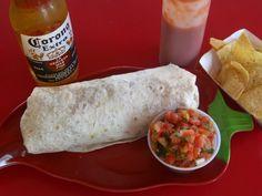 Taqueria La Cumbre. Featured on Man vs. Food.