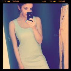 Silver Metallic Promod Dress