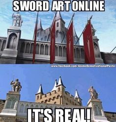 Sword Art Online oh my god where is this i need to go there O_O