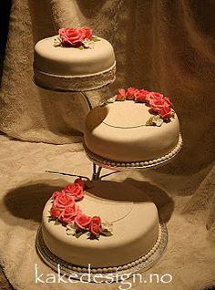 kakedesign: bryllupskaker