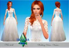 Irinka: Wedding Dress Venice • Sims 4 Downloads