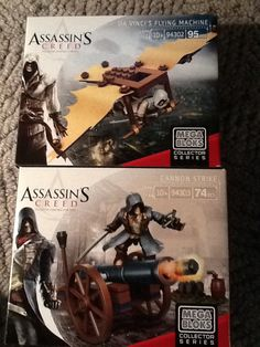 Got these from Toys R Us yesterday! Ezio and Arno ! Ah, geeks rejoice! AC is awesome!