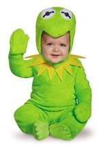 Dress your little Muppet as one of the most iconic Muppets characters: Kermit the Frog. The Disney Baby Kermit Infant Costume is a four-piece costume that is easy and comfortable for little ones to wear. Halloween Costume Contest, Toddler Halloween Costumes, First Halloween, Halloween Kids, Halloween 2018, Costume Ideas, Happy Halloween, Halloween Queen, Trendy Halloween