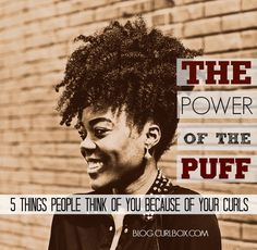 We dipped inside the minds of people staring a little too hard at your hair. What are they thinking? Here are five ideas.   http://blog.curlbox.com/2015/04/13/the-power-of-the-puff-5-things-people-think-of-you-because-of-your-curls/