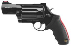 Hand cannon: shoots 7, 410 shotgun shells, weight: only 41 oz