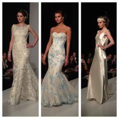 Are you following our Live Blog coverage of Bridal Fashion Week? These Maggie Sottero gowns came down the runway an hour ago!