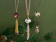 The Night Before Christmas Necklaces - instructions and supplies