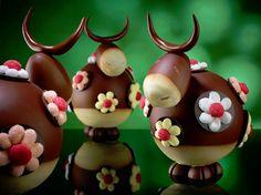 Les Vaches de Christian Camprini - Chocolate Alpine Cows ♥❤ ♡ ❤