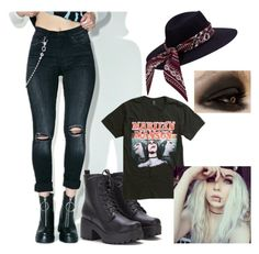 """""""Untitled #388"""" by emily-atkin on Polyvore featuring Hot Topic and MAK"""