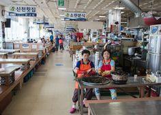 Jagalchi Fish Market South Korea Eric Ripert Eats His Way Through South Korea - Bon Appétit - http://www.bonappetit.com/people/chefs/article/eric-ripert-korean-food-travel