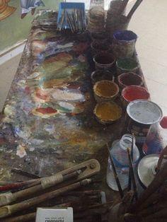 Iconographer Dimitris Maniatis – icoana Mai, Fresco, Painting, Amazing, Fresh, Painting Art, Paintings, Painted Canvas, Drawings