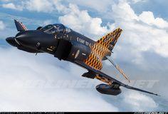 "Germany - Air Force; McDonnell Douglas F-4F Phantom II; 3813 (cn 4644) WTD61 F-4F Flight Test ""Phantom Pharewell"" special colourscheme"