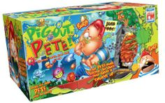 Fotorama Pig Out Pete Skill and Action Game Weird Toys, Free Games, Board Games, Sims, Lunch Box, Action Game, Play, Amazon, Amazons