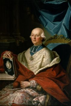 Msgr. le Cardinal-Prince Louis René Édouard de Rohan-Guéméné, Prince de Guéméné, Prince-Évêque de Strasbourg (1734-1803).