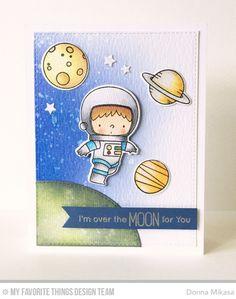 Space Explorer Stamp Set and Die-namics, Blueprints 24 Die-namics - Donna Mikasa #mftstamps