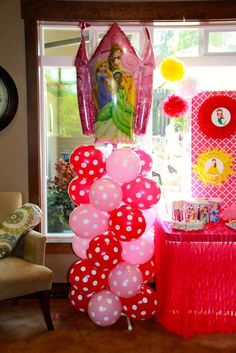 Disney Princess Birthday Party Ideas | Photo 9 of 38 | Catch My Party