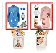 """Shopping & Shirtdresses"" by nisha-naenae on Polyvore featuring Par Avion Tea, Vince, Morado Designs, Fendi, Castañer, Boohoo, River Island, Timex, Chico's and Alexa Starr"