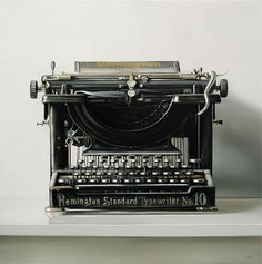 Beautiful typewriter! I wish I still had my grandpa's.