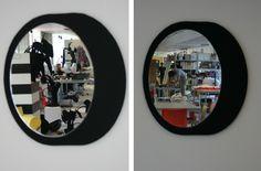 felt mirror reflecting activity at Wandschappen.nl