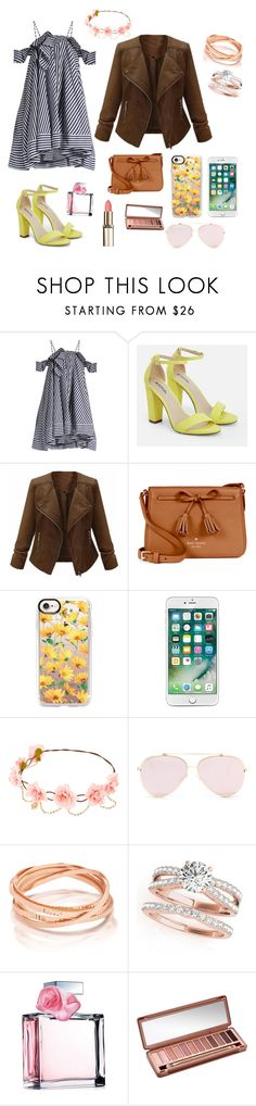 """Mother's Day Brunch"" by natsof7 ❤ liked on Polyvore featuring MSGM, JustFab, Kate Spade, Casetify, Ralph Lauren and Urban Decay"