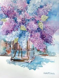 Angie Roth McIntosh   WATERCOLOR