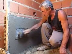 REBOCANDO PAREDE EM BLOCOS SEM CAL' TOWING WALL BLOCKS WITHOUT CAL