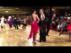 Jive Routine Winners of Hollywood DanceSport 2015 - Oleg Astakhov and student Marilyn - JIVE - YouTube