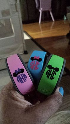 DIY Personalized Monograms for Your Magic Bands by BubbaAndDoodle