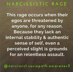Narcissistic Rage