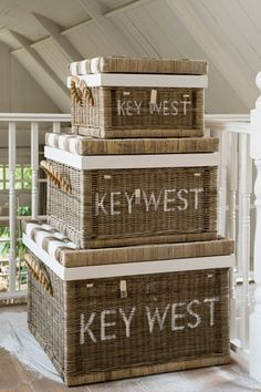 Key West, Newport, Nantucket, Sea Side, Gulf Shores, or??  Riviera Maison