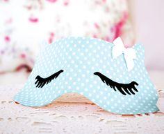 DIY Sleep Mask - FREE Sewing Pattern and Tutorial