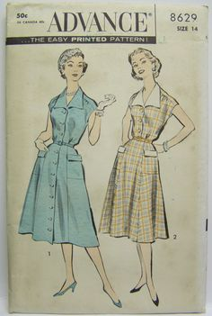 9362b709489 VINTAGE 1963 Mail Order Patt-O-Rama DRESS Pattern sz 14 UNUSED