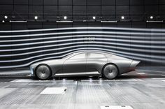 Shape-shifting is one of the more radical approaches to improving aerodynamics, and Mercedes has taken this to another level with its Concept IAA, which changes shape at higher speeds to cut through the air more efficiently.
