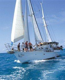 Sailing in Whitsundays, YES