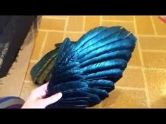 Craft Foam Wing Tutorial I made these wings for my... - The Sky Calls to Us