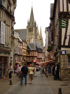 Vannes is a commune in the Morbihan department in Brittany in north-western France. It was founded over 2000 years ago Places To Travel, Places To See, Wonderful Places, Beautiful Places, Region Bretagne, Brittany France, Medieval Town, France Travel, Paris France