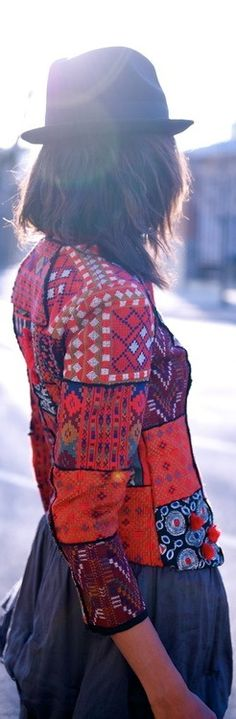 """Now Bohemian dress is quite popular. In modern usage, the term """"Bohemian"""" is applied to people who live unconventional, usual..."""