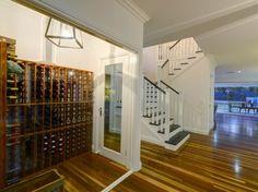 Stunning Sunday: Hamptons Home Hamptons House, The Hamptons, Australian Homes, Wine Cellar, Beach House, New Homes, House Design, Interior, Stair Design