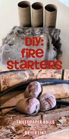 make your own fire starters....need to remember this when camping season starts