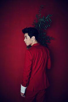 """Super Junior-M's Henry Lau Announces His """"Fantastic"""" Comeback Lee Donghae, Leeteuk, Heechul, Siwon, Henry Lau, Super Junior Profile, Kpop, Red Suit, Last Man Standing"""